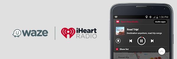 iHeartRadio Now Syncs with Waze! | iHeartRadio Blog