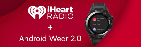 iHeartRadio Now Untethered on Android Wear 2 0 Smartwatches